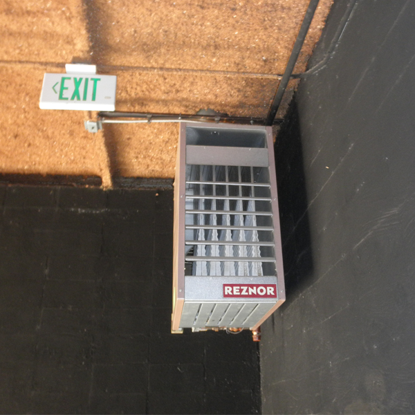 f unit heater  reznor hvac